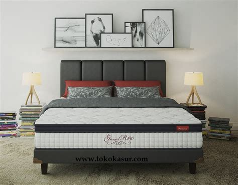 Kasur Central 120x200 grand r180 toko kasur bed murah simpati furniture