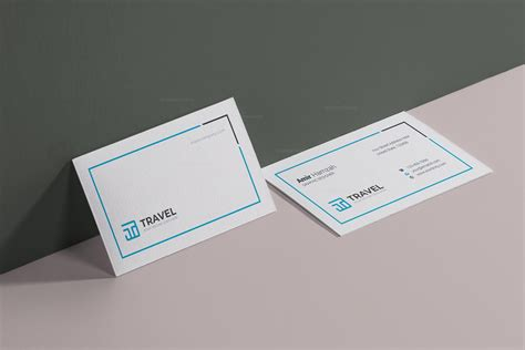 Graphicriver Travel Agency Business Card Design Template by Travel Agency Business Card Design Template 001782