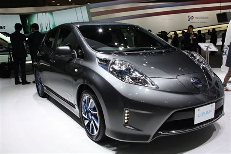nissan leaf grey nissan leaf to launch in india in 2018 report