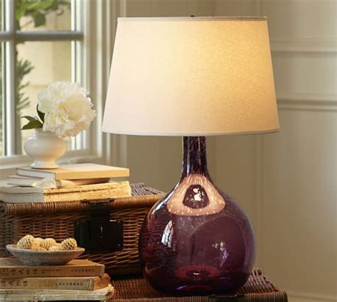 glass table lamps ideas  pinterest clear