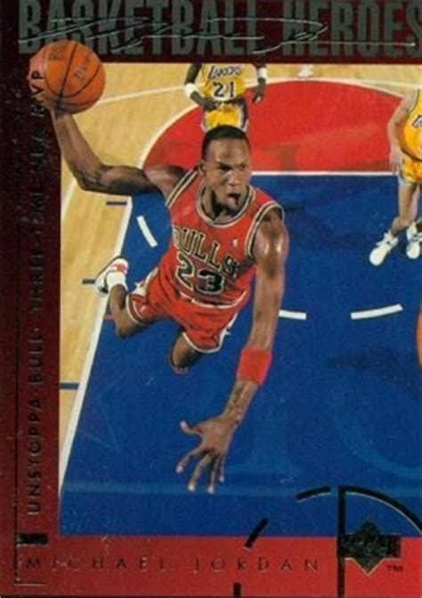 1994 upper deck jordan heroes michael jordan #40