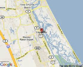 map of edgewater florida edgewater florida florida east coast