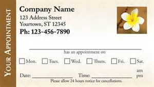 appointment cards for businesses artech printing inc