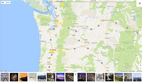 around the us interactive map interactive map shows the best places for photography