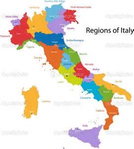 Mapa ciudades de italia