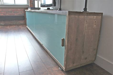 glass door storage units simeon reclaimed wood shelves with glass sliding doors by