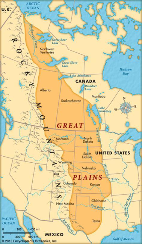 great plains map great plains encyclopedia children s homework help dictionary britannica