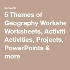5 themes of geography rubric free current events report worksheet for classroom