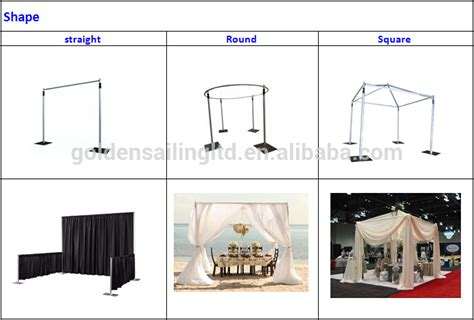 pipe and drape system for sale high quality trade show booth pipe and drape system for