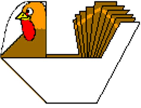 printable origami turkey thanksgiving turkey origami