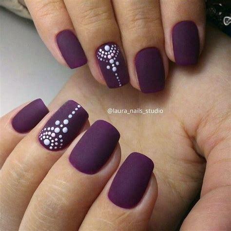 plum nail color 50 matte nail ideas plum nail plum nails