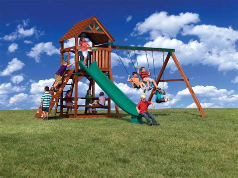 big backyard lexington wood gym set backyard playset canada backyard playground kids wooden