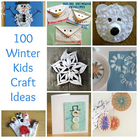 easy winter craft ideas for 100 winter craft ideas make and takes