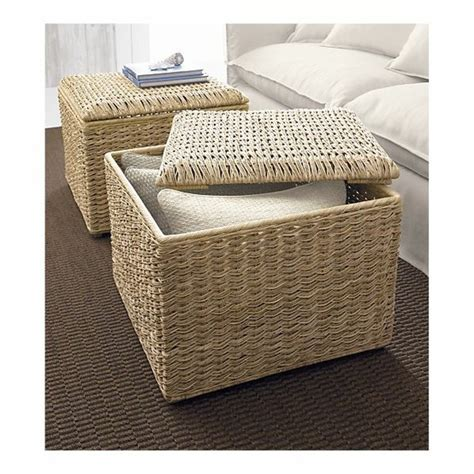 seagrass ottoman seagrass ottomans suite life pinterest
