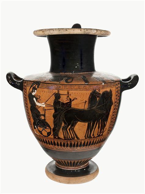 vasi greci a figure rosse ceramisti e ceramografi attici inventano le tecniche delle