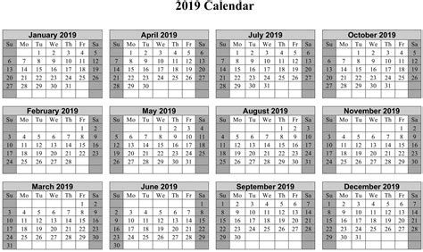 yearly calendar template  paper worksheets