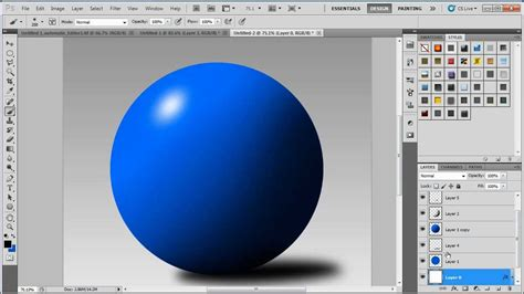 adobe photoshop shading tutorial beginners photoshop tutorial basic shading and highlights