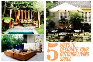 diy outdoor living spaces known valley for the of home 5 ways to decorate