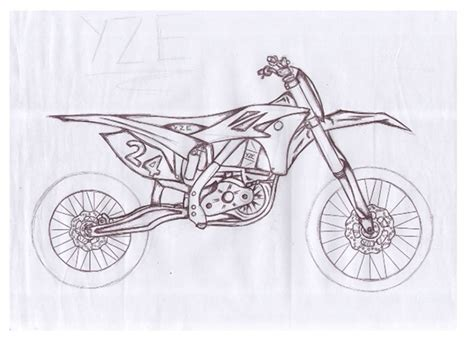 how to draw a motocross bike check out this crazy concept drawing that a secret source