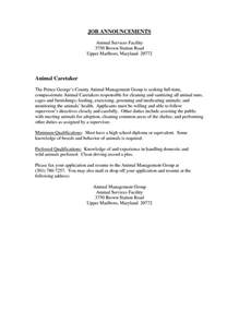 Animal Care Assistant Cover Letter by Best Photos Of Kennel Assistant Cover Letter Kennel Attendant Cover Letter Kennel Attendant