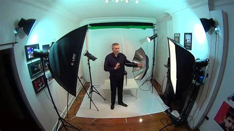 youtube film setup studio lighting basics home based studio easy set up 1