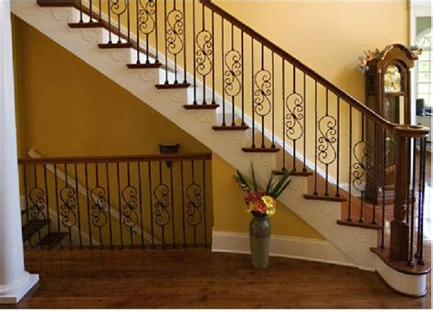 wood banister railing stair banisters and railings pictures for wood and iron