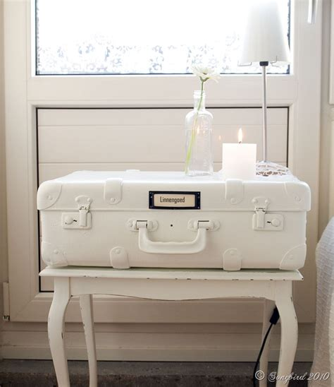 Vintage Suitcase Nightstand creative ways to recycle and reuse vintage suitcases