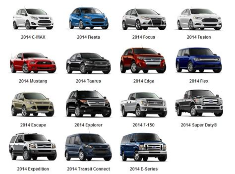 Ford Car Models by 17 Best Images About Bozard Ford New Vehicle Lineup On