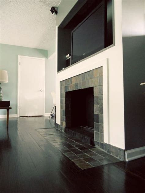 how to remove retile a fireplace makeover removing a brick hearth and retiling