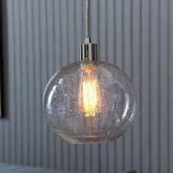 Seeded Glass Pendant Light Seeded Glass Shade West Elm