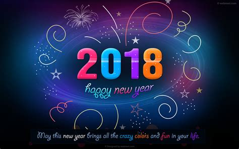 new year wallpaper 60 beautiful 2018 new year wallpapers for your desktop
