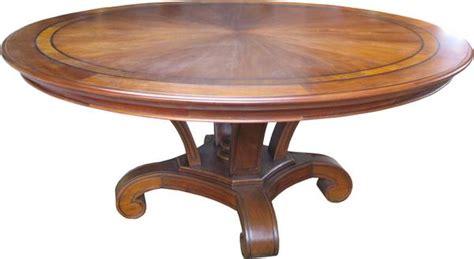 Mahogany Circular Dining Table by Mahogany Dining Table With Inlay