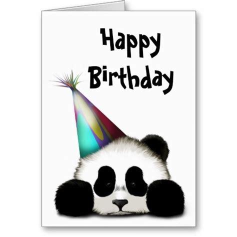 Panda Birthday Card Party Panda Greeting Cards Natalies Panda Party Pinterest