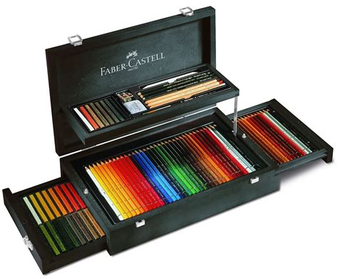 Finger Printing Pads B1 Faber Castell faber castell and graphic collection mahogany vaneer artists drawing