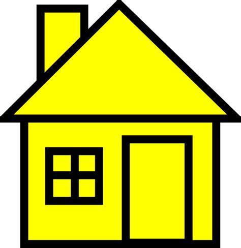 yellowhouse clip art  clkercom vector clip art