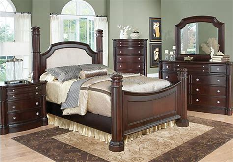 dumont bedroom furniture shop for a dumont low poster 7 pc king bedroom at rooms to