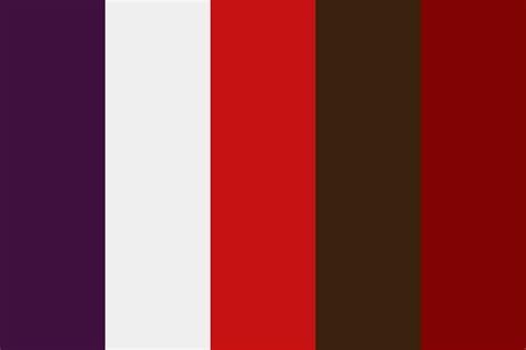 carol scarlette color palette