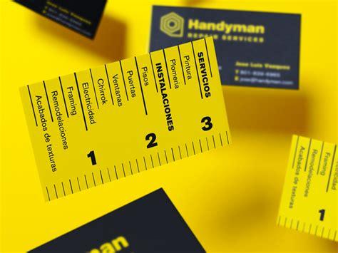 Handyman Business Cards