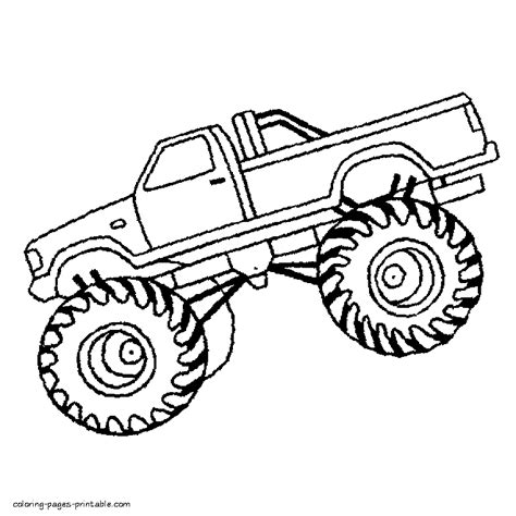crayola free coloring pages cars trucks other vehicles truck coloring page