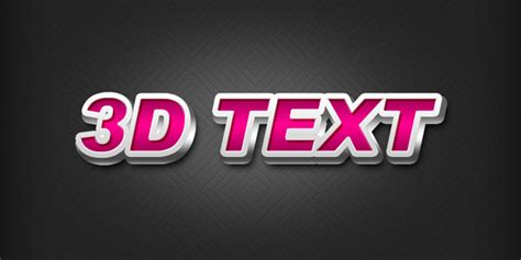 how to create an editable 3d text effect in adobe illustrator create a 3d text effect in photoshop graphicsfuel