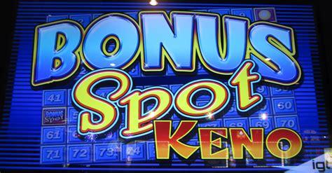bonus spot keno wizard  odds