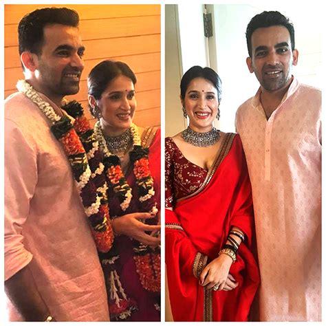 Zaheer khan marriage pics