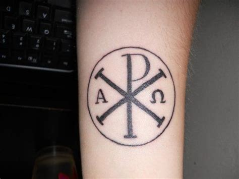 qi tattoo pictures kinda digging this chi rho tattoo maybe my next one