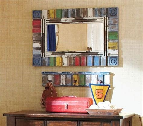 mirror hooks cars and pottery barn on