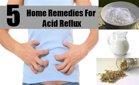 home remedies for acid reflux disease treatments