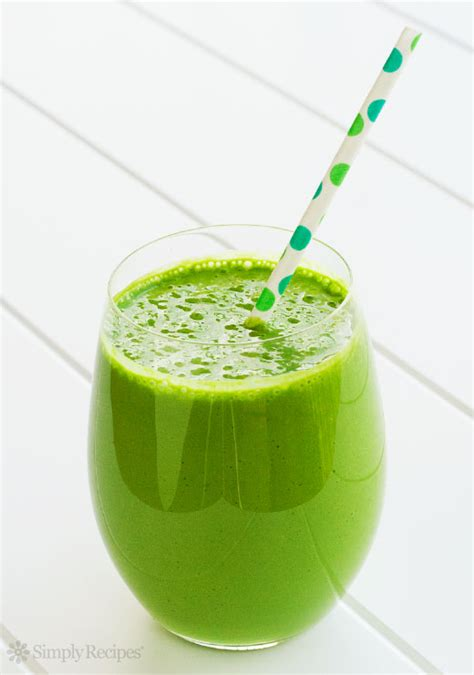 Easy Spinach Smoothie For Detox by Green Smoothie Recipe Simplyrecipes