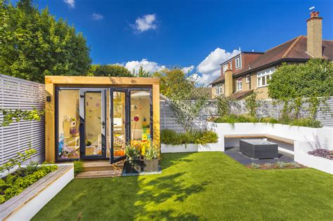 flat pack homes garden office design inspiration by dome photography