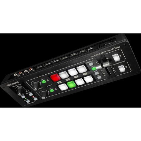 Roland V 1hd Portable 4 X Hdmi Input Switcher roland v 1hd portable 4 x hdmi input switcher digital