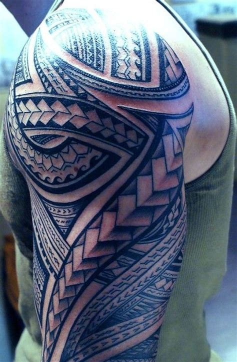 tribal spear tattoo 52 best polynesian designs with meanings tattoos