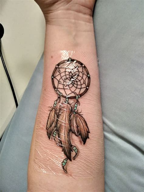 dream catcher tattoo on forearm best 25 dreamcatcher arm ideas on